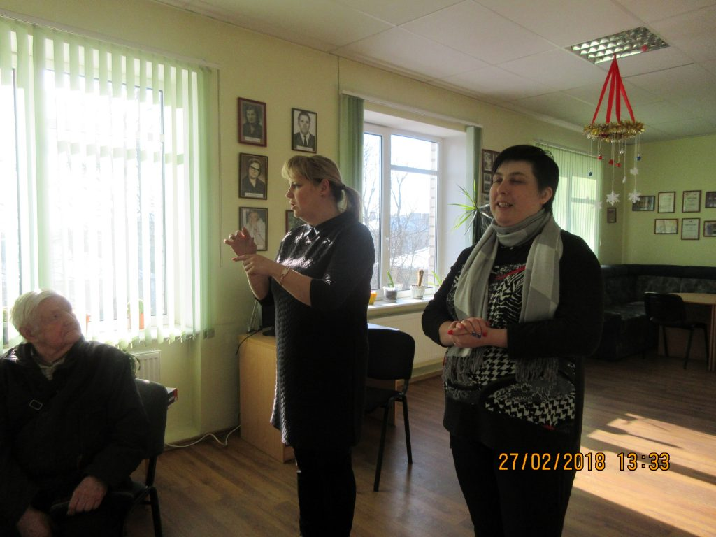 59. Visiting the Rezekne department of the Latvian Association of the Deaf