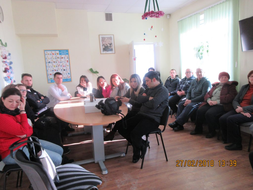 60. Visiting the Rezekne department of the Latvian Association of the Deaf