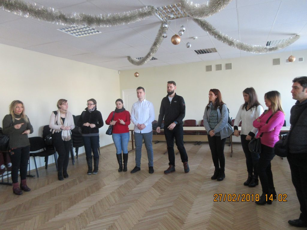 63. Visiting the Rezekne department of the Latvian Association of the Deaf