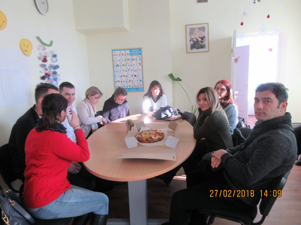66. Visiting the Rezekne department of the Latvian Association of the Deaf