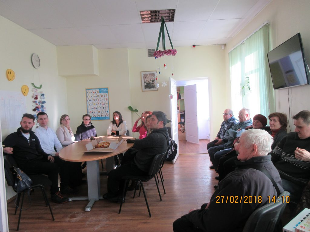 67. Visiting the Rezekne department of the Latvian Association of the Deaf