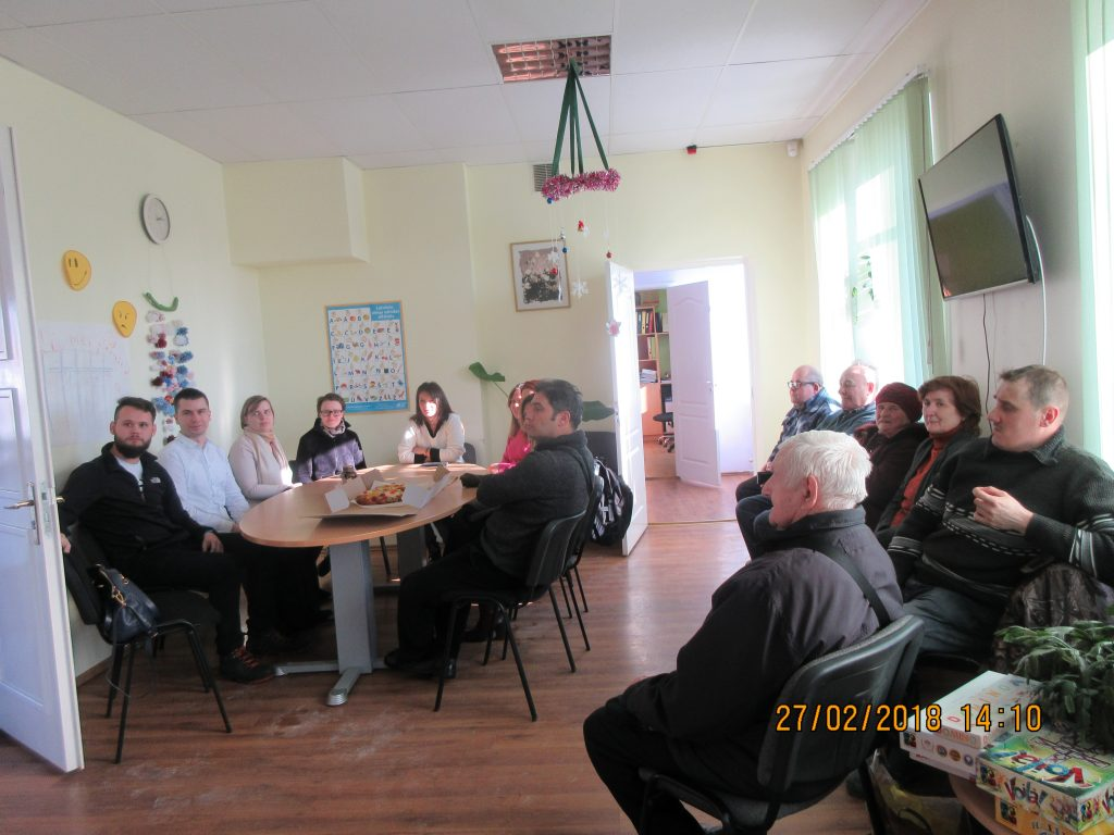 68. Visiting the Rezekne department of the Latvian Association of the Deaf