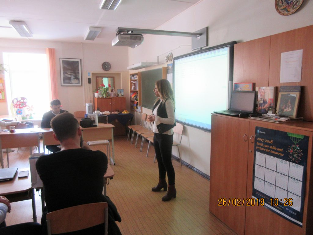 7. Project meeting