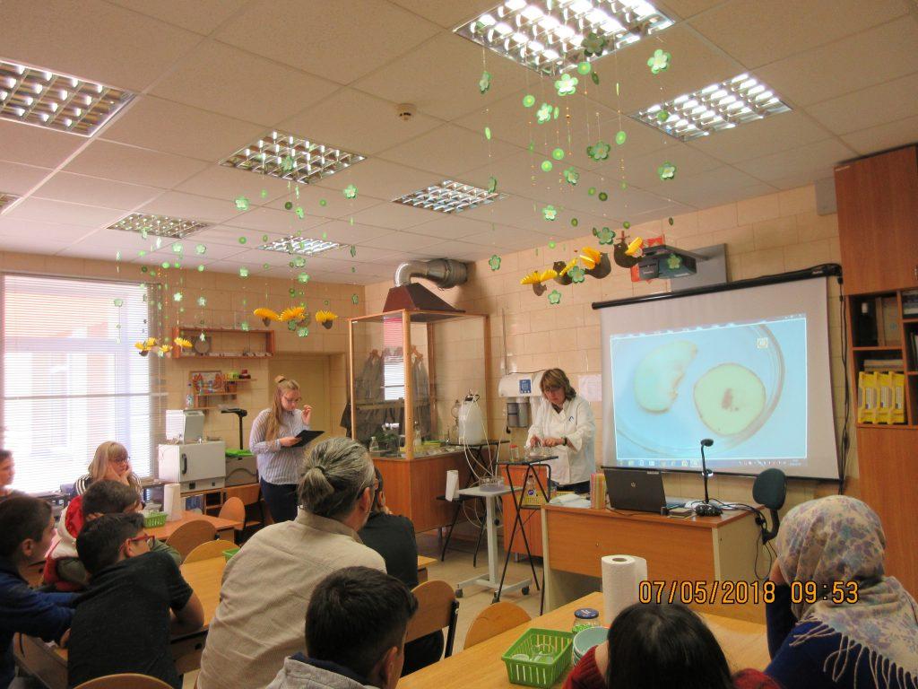 14. Chemistry lesson