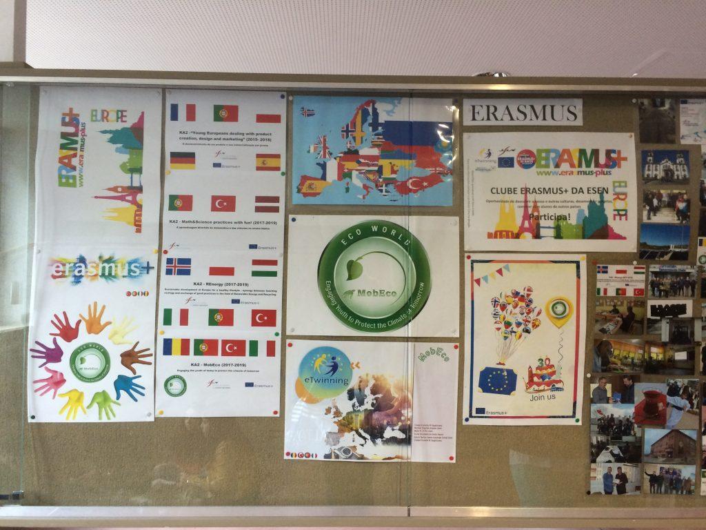 30. Erasmus + corner
