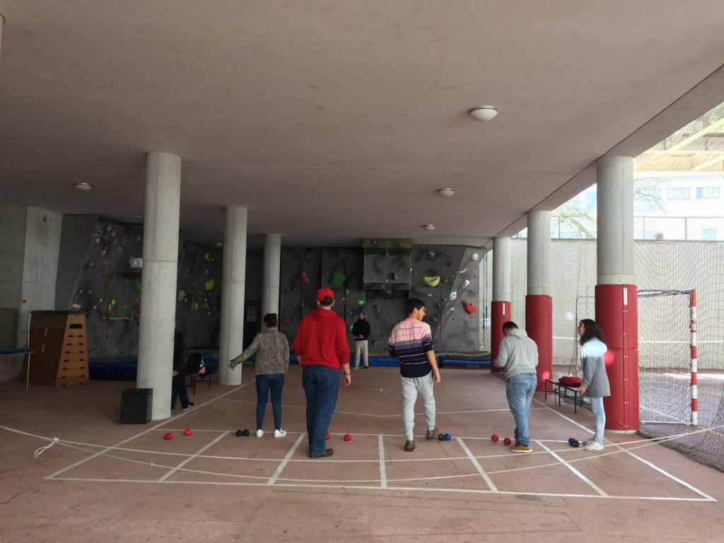42. Sports field