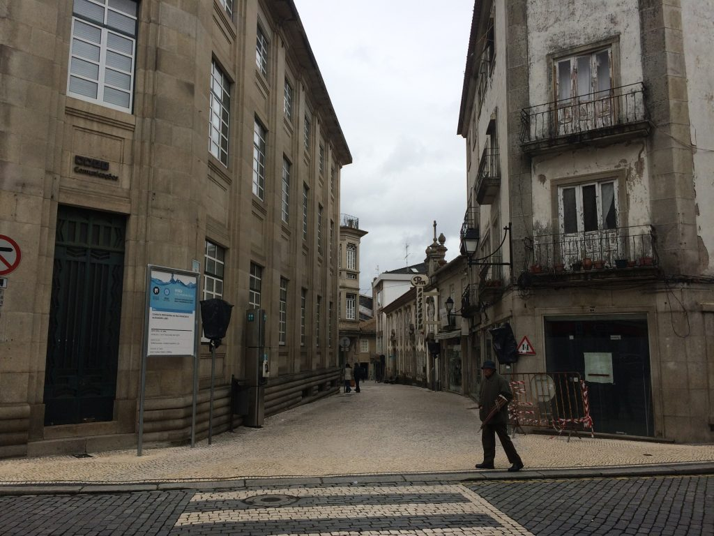 7. The streets of the city