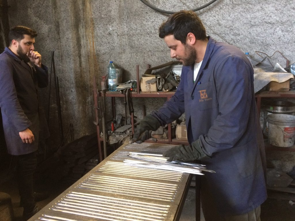 75. Steel workshop