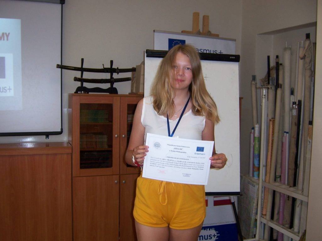 76. Certificates time